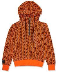 BOY London Boy Aver Hood Sample Orange/black
