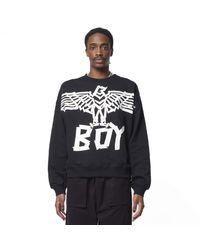 BOY London Boy Tape Eagle Sweatshirt - Black