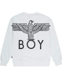 BOY London Boy Eagle Back Print Sweat - Multicolour
