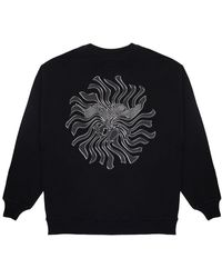BOY London Boy Distorted Eagle Backprint Sweatshirt Black/white