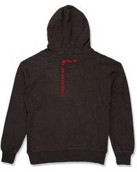 BOY London Boy London Wrap Text Hood Black/red