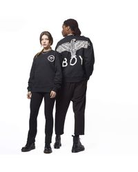 BOY London Boy Eagle Backprint Sweatshirt - Black