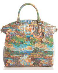 Brahmin Large Duxbury Satchel - Multicolor