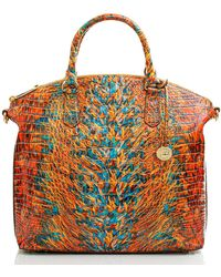 Brahmin Large Duxbury Satchel - Multicolor