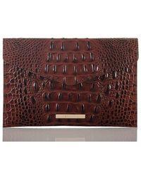 Brahmin Envelope Clutch Pecan Melbourne - Multicolor