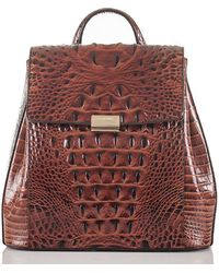 Brahmin Margo Backpack Pecan Melbourne - Multicolor