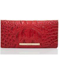 Brahmin Ady Wallet Ember Melbourne - Red