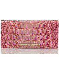Brahmin Ady Wallet Peony Ombre Melbourne - Pink