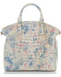 Brahmin Templo Collection Large Duxbury Satchel Bag - Multicolor