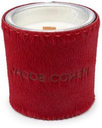 Jacob Cohen Duftkerze 290 g - Rot