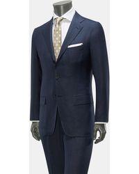 Kiton Anzug - Blau