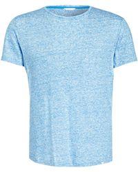 Orlebar Brown - Leinen-Shirt - Lyst