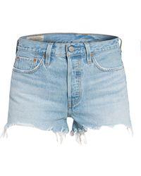 Levi's Jeans-Shorts 501 ORIGINAL SHORT - Blau