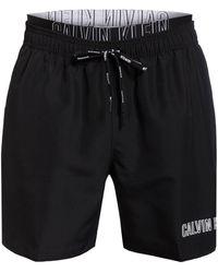 Calvin Klein Badeshorts - Schwarz