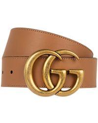 Gucci Gürtel Aus Leder - Braun
