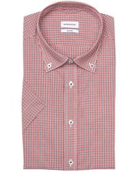 Seidensticker Kurzarm-Hemd Shaped Fit - Mehrfarbig