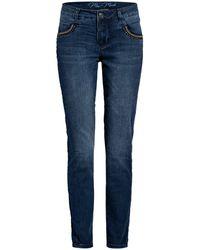 Mos Mosh Skinny Jeans NAOMI SOHO - Blau