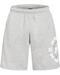 Nike Sweatshorts SPORTSWEAR JUST DO IT - Grau