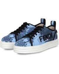 Fendi - Plateau-Sneaker RISE - Lyst