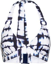 Aubade Neckholder-Bikini-Top BRISE DU SUD - Blau