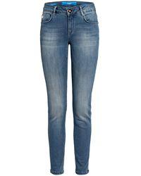 Goldgarn Denim Jeans ROSENGARTEN - Blau