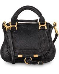 Chloé Marcie Medium Shoulder Bag - Schwarz