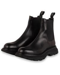 Alexander McQueen Chelsea-Boots - Schwarz