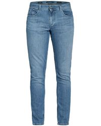 ALBERTO Jeans SLIPE Tapered Fit - Blau
