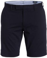 Polo Ralph Lauren Chino-Shorts HUDSON Slim Fit - Blau