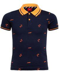 S.oliver Jersey-Poloshirt - Blau