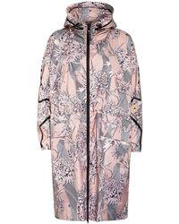 adidas By Stella McCartney Oversized-Parka - Pink