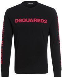 DSquared² Langarmshirt - Schwarz