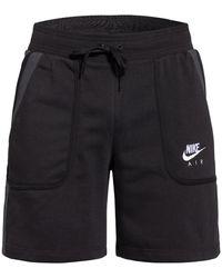 Nike Sweatshorts AIR - Schwarz