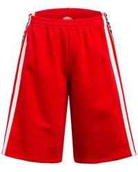 Gucci Sweatshorts - Rot