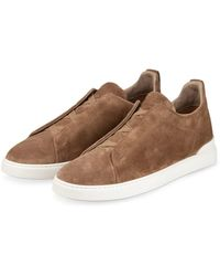 Ermenegildo Zegna Slip-on-Sneaker - Natur