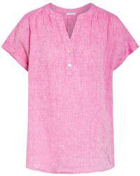Seidensticker Leinenbluse - Pink
