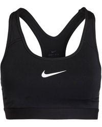 Nike Sport-BH PRO CLASSIC - Schwarz