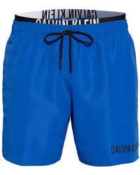 Calvin Klein Badeshorts - Blau