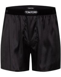 Tom Ford Satin-Boxershorts aus Seide - Schwarz