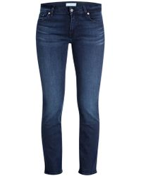 7 For All Mankind Cropped-Jeans ROXANNE - Blau