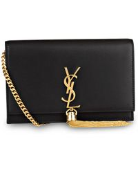 Saint Laurent Clutch KATE - Schwarz