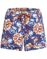 Jockey Lounge-Shorts - Blau