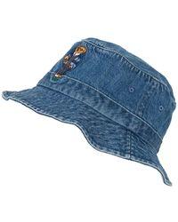 Polo Ralph Lauren Bucket-Hat - Blau