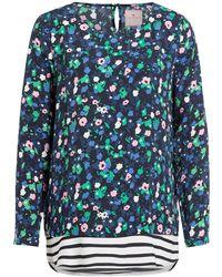 LIEBLINGSSTÜCK Blusenshirt mit floralem Muster - Blau