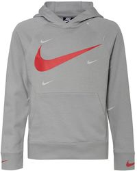 Nike Hoodie SPORTSWEAR SWOOSH - Grau