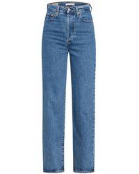 Levi's Jeans RIBCAGE - Blau