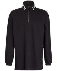 Vetements Oversized-Sweatshirt - Schwarz