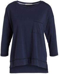 Mey Lounge-Shirt Serie NIGHT2DAY - Blau