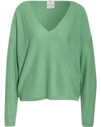 FTC Cashmere Pullover mit Cashmere - Grün