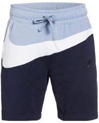 Nike Sweatshorts - Blau